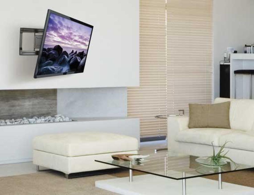 Sanus Simplicity Slf4 Full Motion Wall Mounts Mounts