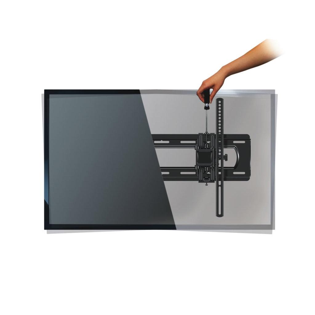 Extend Tilt Tv Wall Mount Universal Brackets Fits Most Flat Panel Tvs 32 90